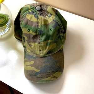 Men's J Crew Camo adjustable Hat